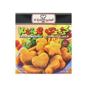 Al Kabeer Chicken Nuggets 400 Grams Karazee ( Frozen )