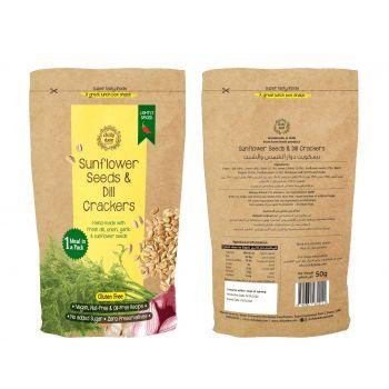 Sunflower Seeds & Dill Crackers