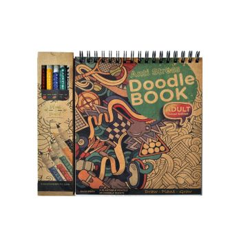 Doodle Book - Colouring Pencils