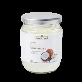 Organic Extra Virgin Raw Coconut Oil with Vanilla