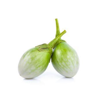 Eggplant Green Round