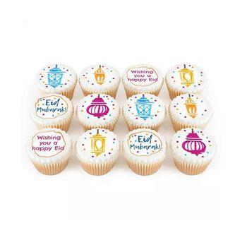 Eid Cup Cakes 12 Pcs