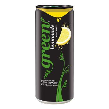 Green Lemonade Sleek Can 330ml