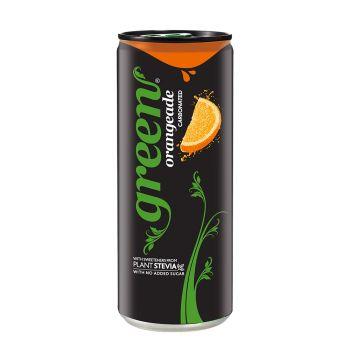 Green Orangeade Sleek Can 330ml