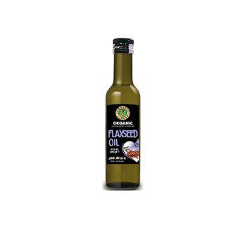 Organic Larder Flax Seed Oil 250 ml