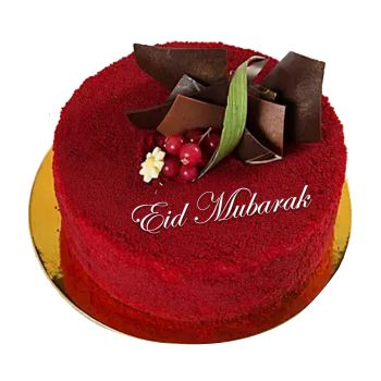 Eid Red Velvet Cake