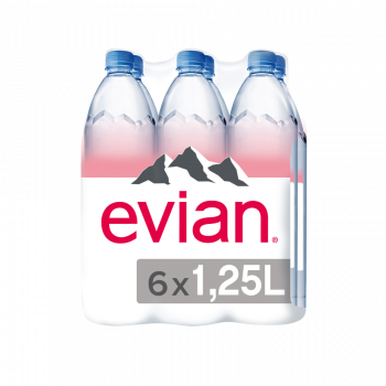Natural Mineral Water 1.25 Litres