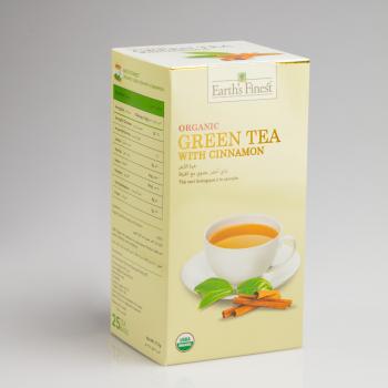 Organic Green Tea with Cinnamon
