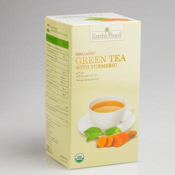 Organic Green Tea with Turmeric