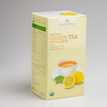Organic Green Tea with Lemon