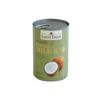 Organic Coconut Milk Raw