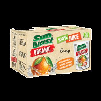 Sunblast Organic Orange (10x200ml)