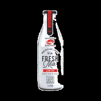 Low Fat Milk 1Ltr - Glass Bottle