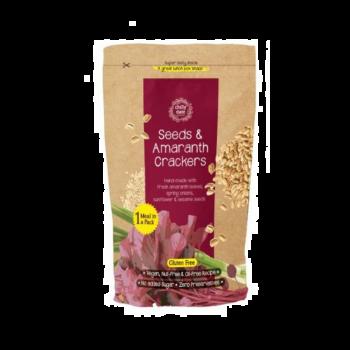 Seeds & Amaranth Crackers