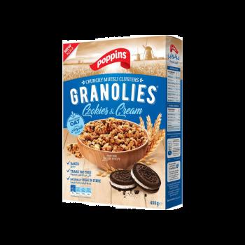 Cookies & Cream Poppins Granolies