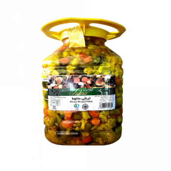 Sliced Mixed Pickle