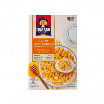 Quaker Cereal Oats and Honey