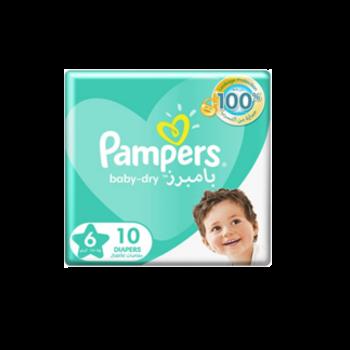 Pampers junior 6x10
