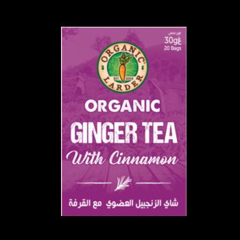 Organic Larder Tea Ginger With Cinnamon