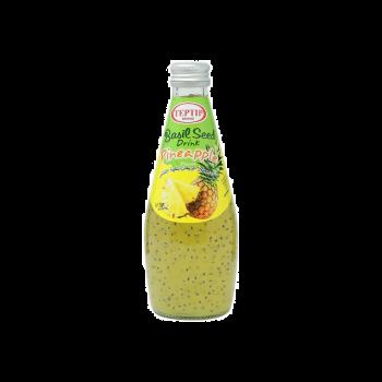 Pineapple Basil Seed Drink