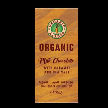 Organic Larder Chocolate Milk Caramel Sea Salt