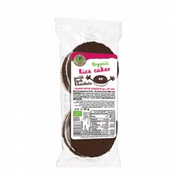 Organic Larder Rice Cakes with Dark Chocolate