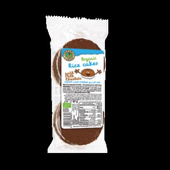 Organic Larder Rice Cakes with Milk Chocolate