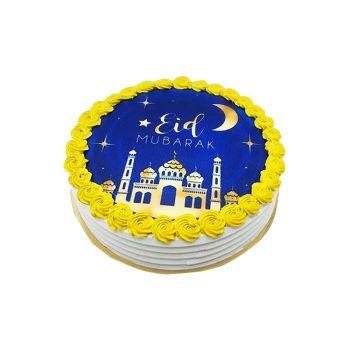 Eid Cake - Vanilla And  Butter Scotch